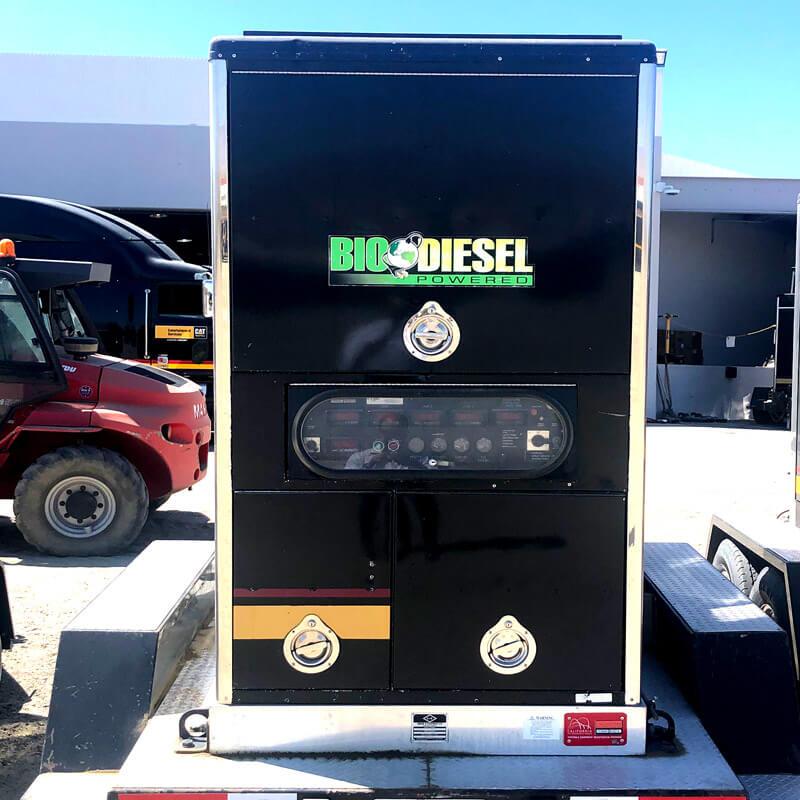 Bio-diesel generator.
