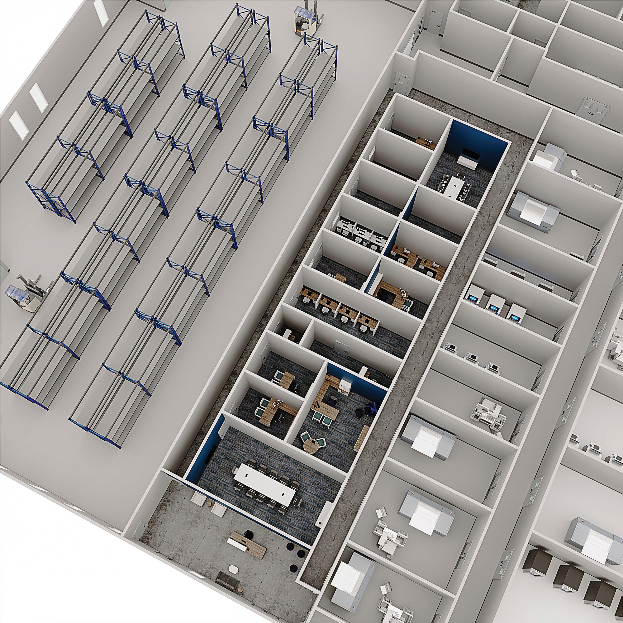 Lab rendering 1