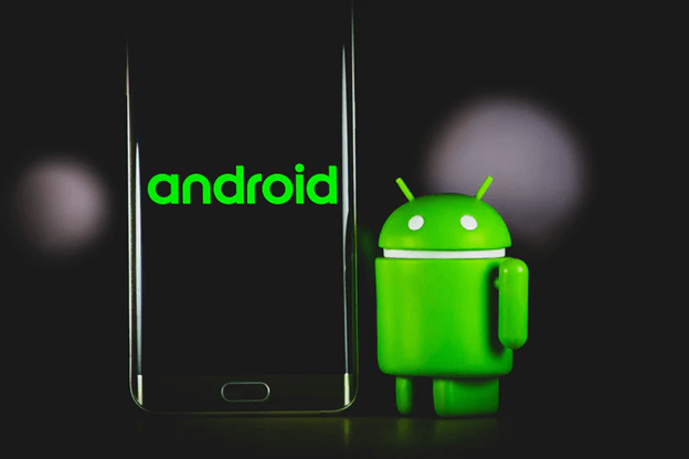 Android Technology Stack Photo with Android Green Animated Illustration