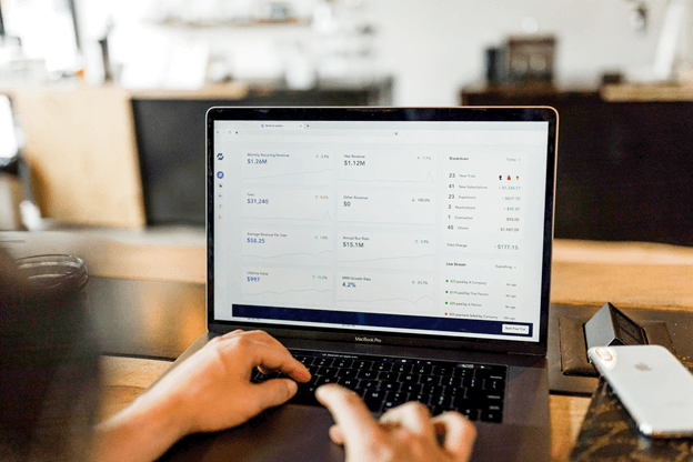 Photo of an ecommerce dashboard to manage products and shipping
