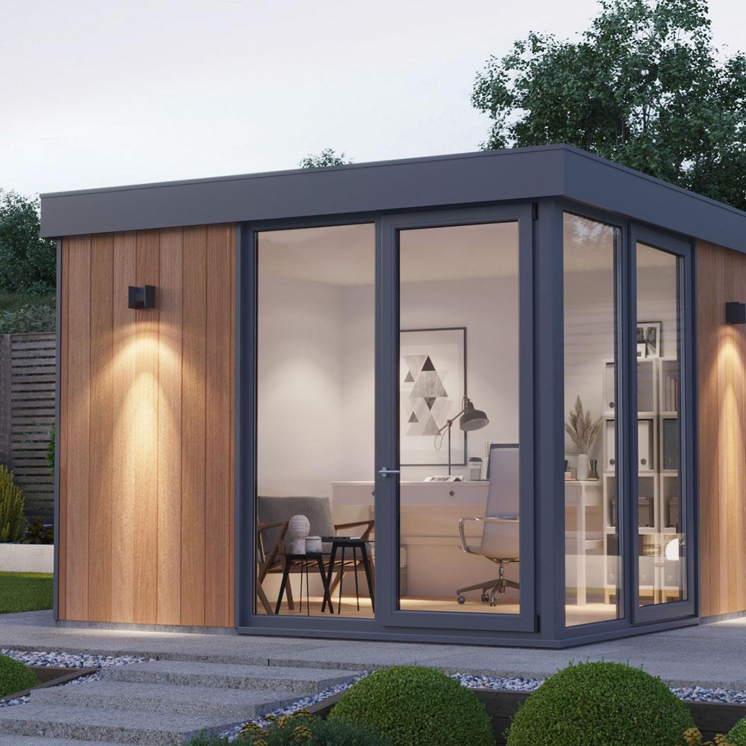 Natural Redwood Garden Room