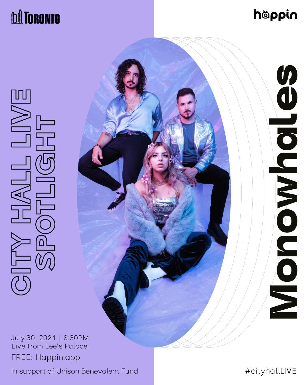 City Hall Live Spotlight Presents: MONOWHALES