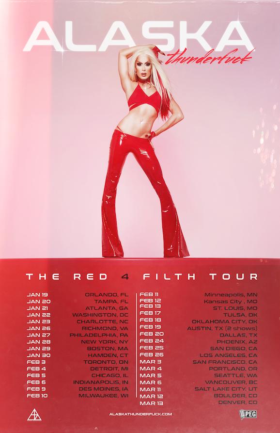 ALASKA presents The Red 4 Filth Tour 2022