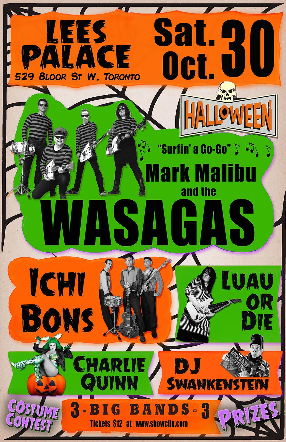 Mark Malibu and the Wasagas