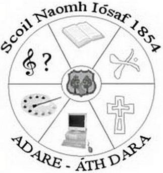 Scoil Naomh Iosaf Adare Logo