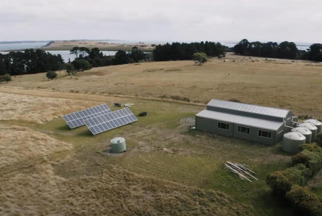 Off-Grid Solar System on French Island Victoria