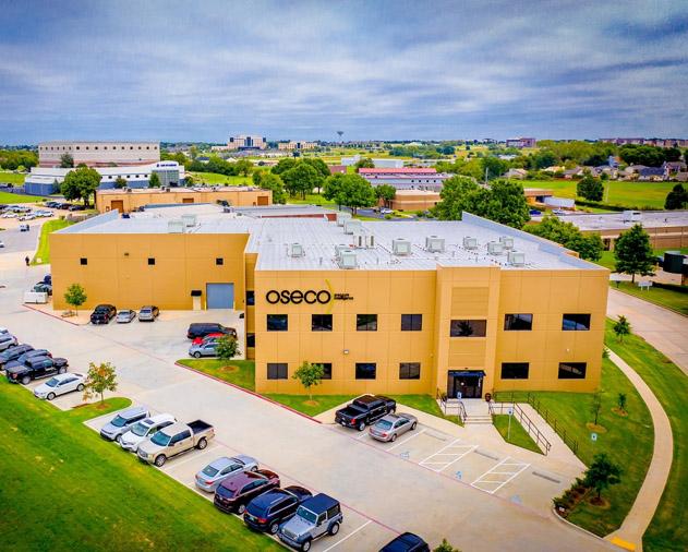 Oseco's office in Broken Arrow, Oklahoma, USA