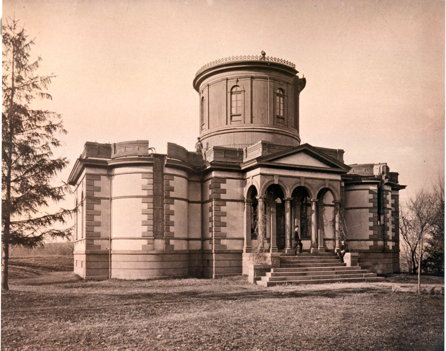 Dudley Observatory in Albany, New York