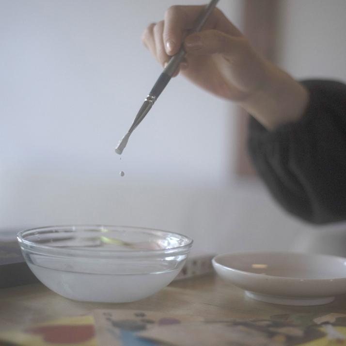 絵を描くこと