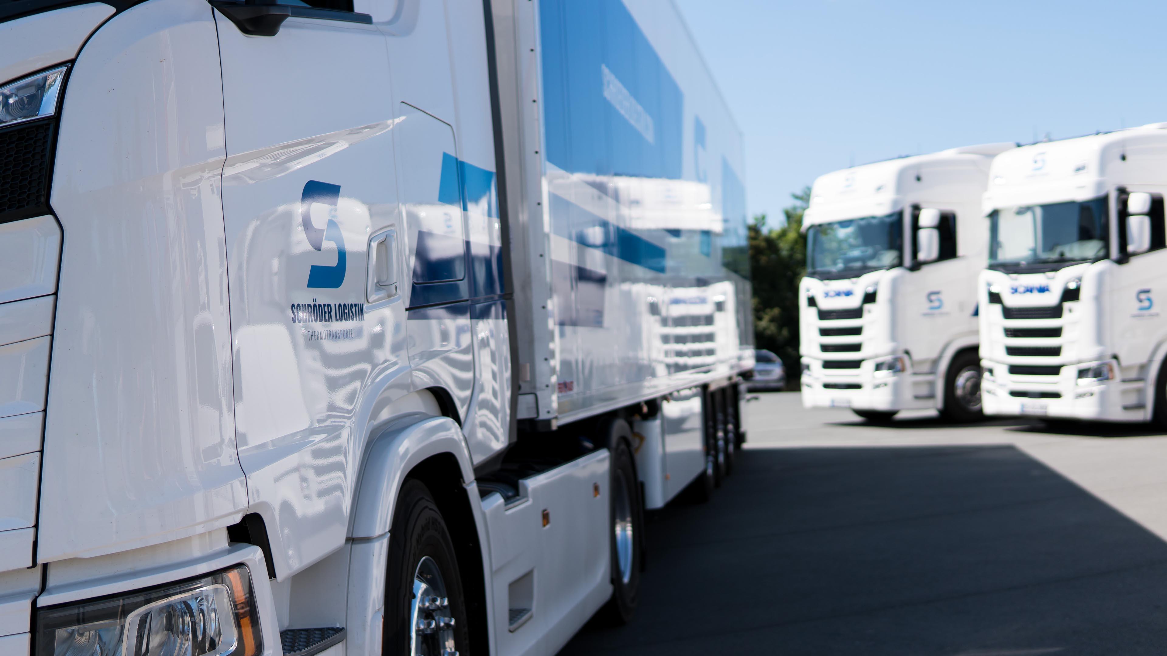 Schröder LogistikThermotransporte Transport, 7 Tage und Temperaturgeführt