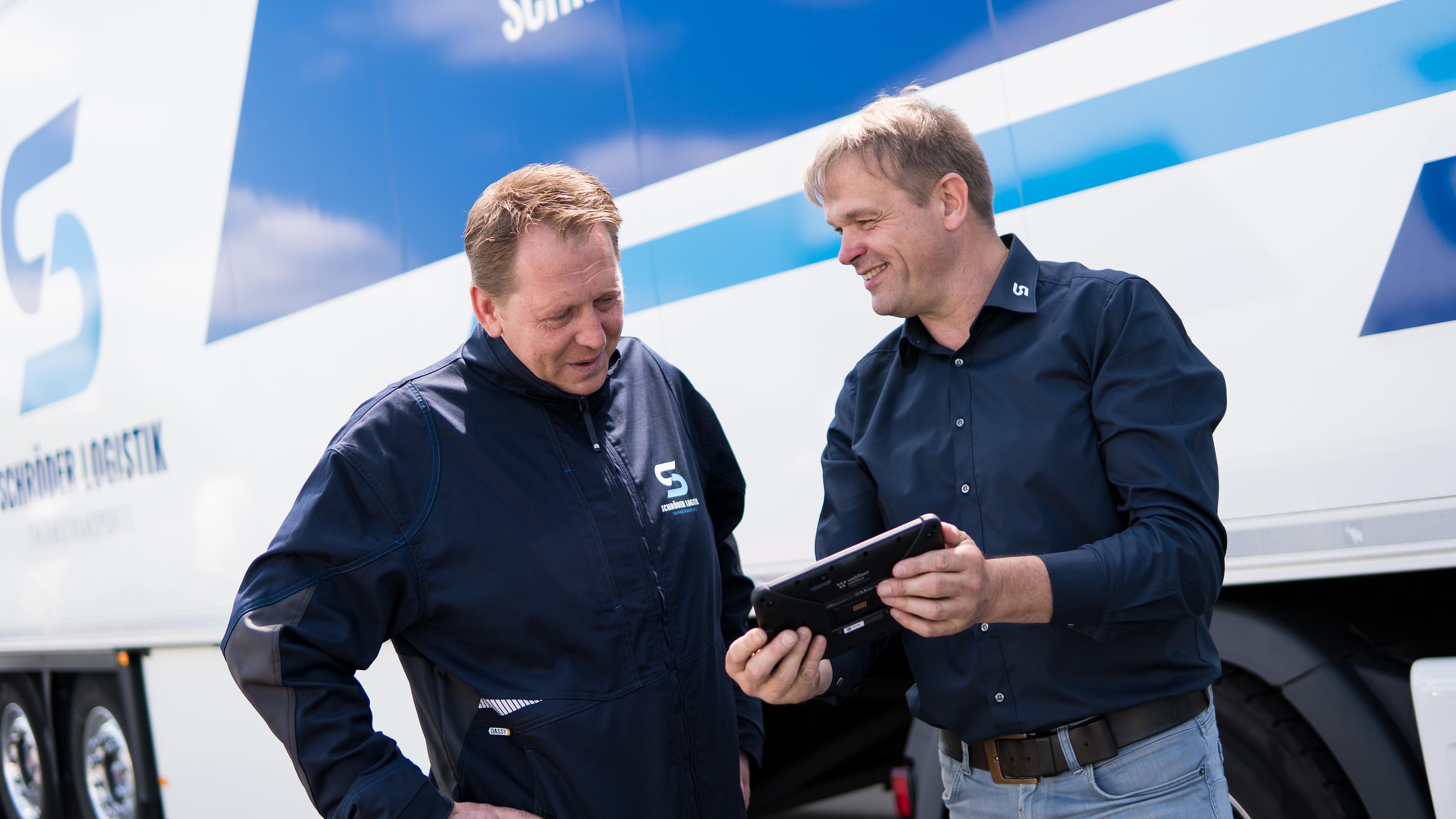 Schröder Logistik Thermotransporte Besprechung