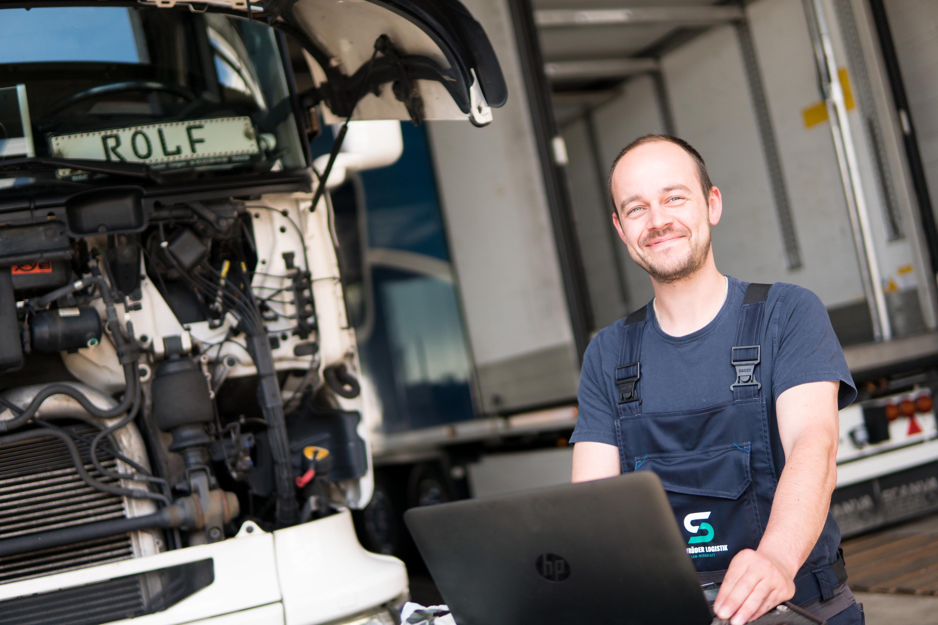 Schröder Logistik Karriere Lkw-Werkstatt