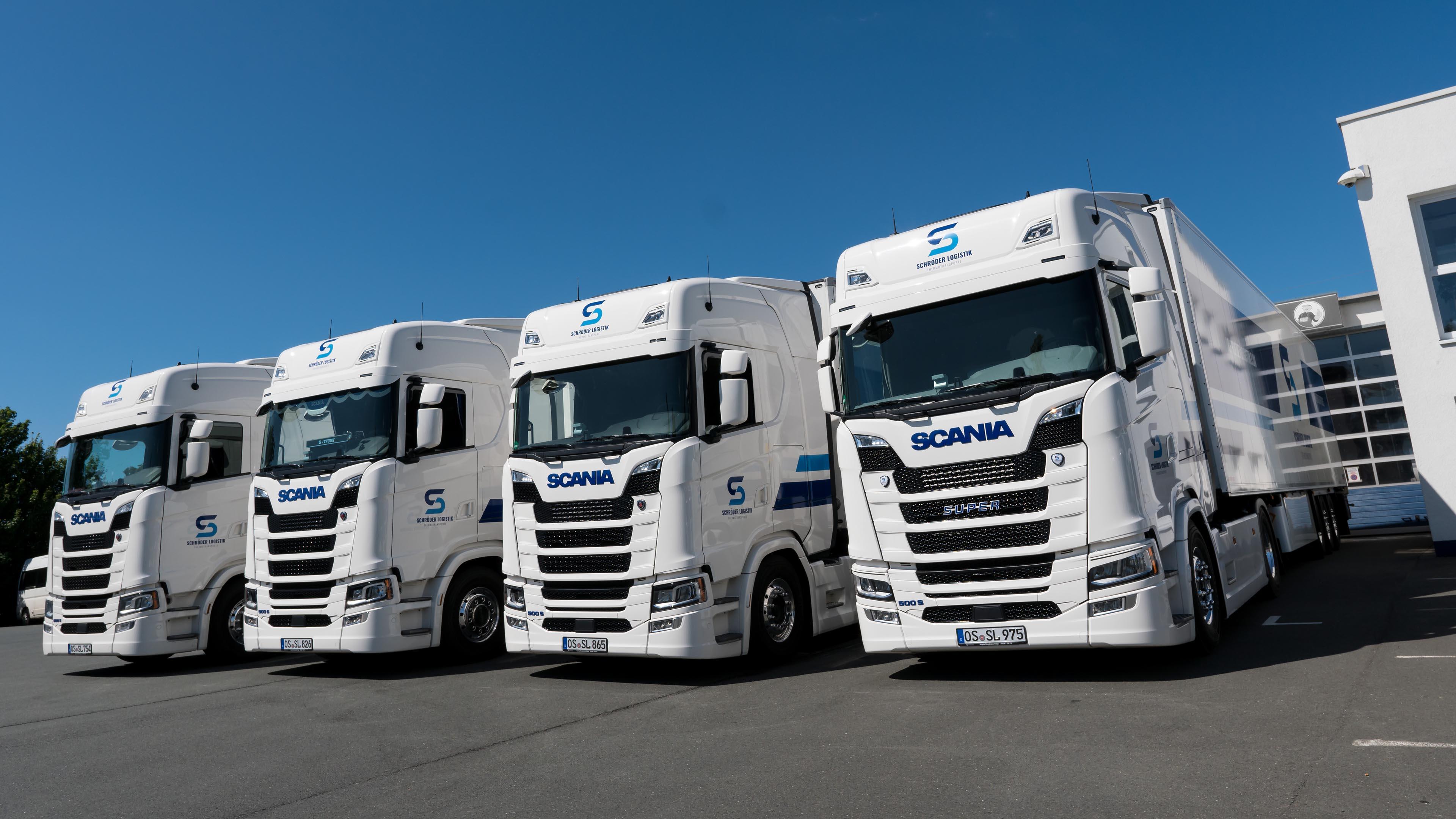 Schröder Logistik Lkw-Flotte