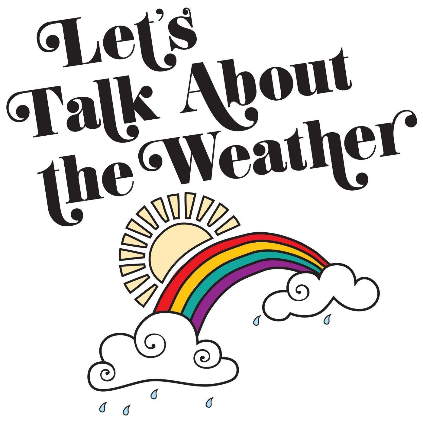 Let's Talk About The Weather album artwork