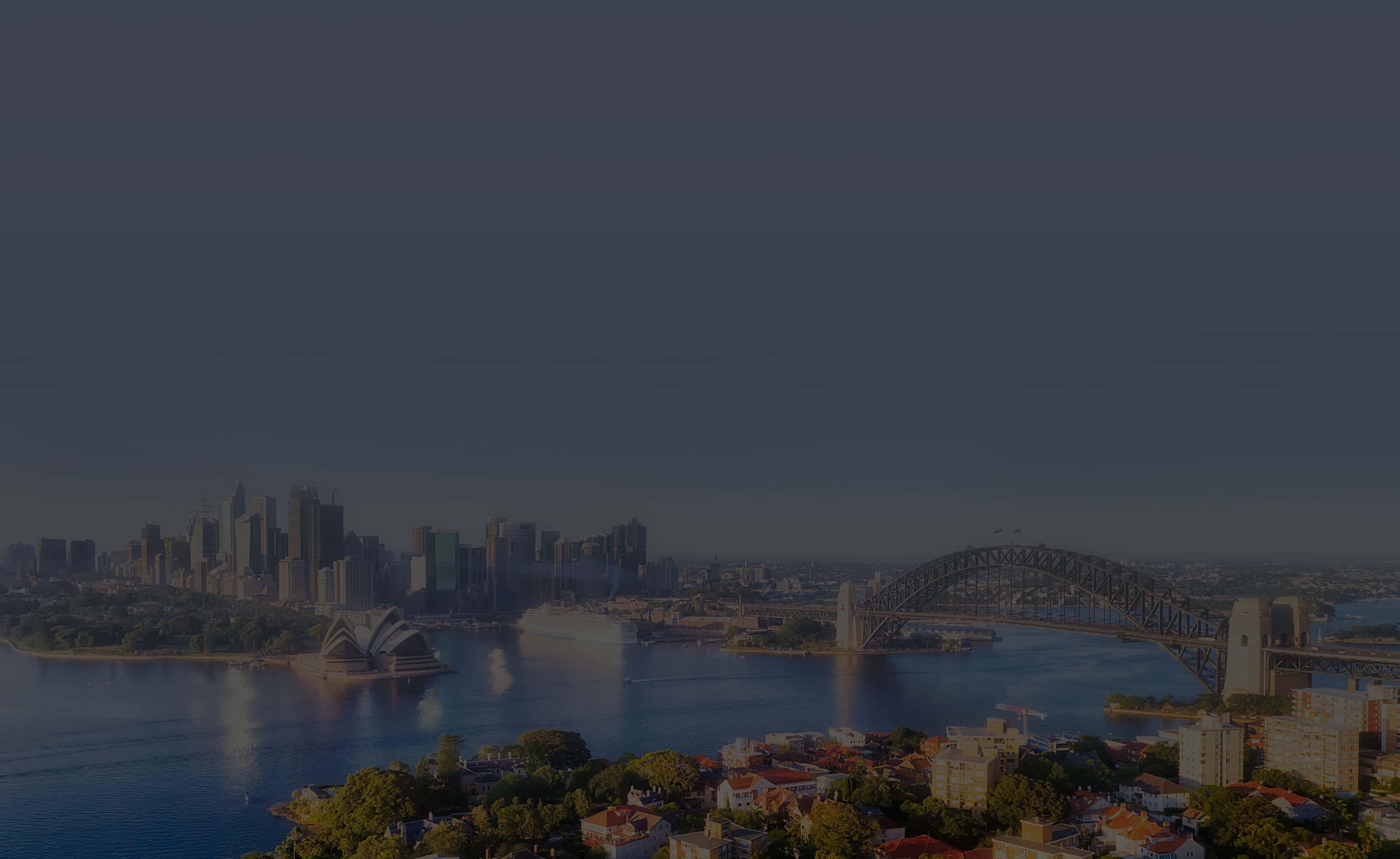 Background image of Sydney - Australia
