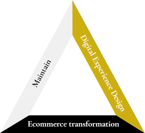 Triangle Ecommerce process