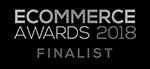 Ecommerce Awards 2018 Finalist badge