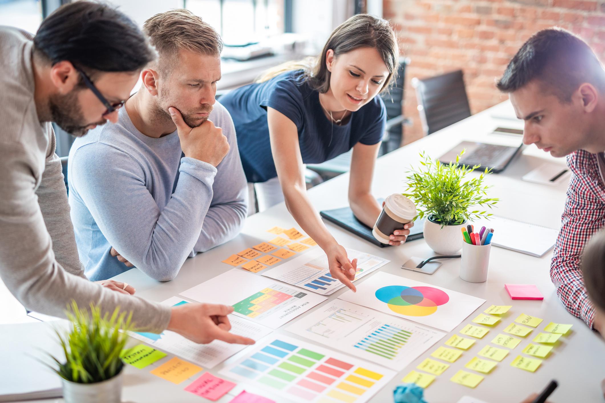 Gemeinsame Überprüfung der Zielerreichung und Abgleich mit den zu Beginn formulierten Zielen