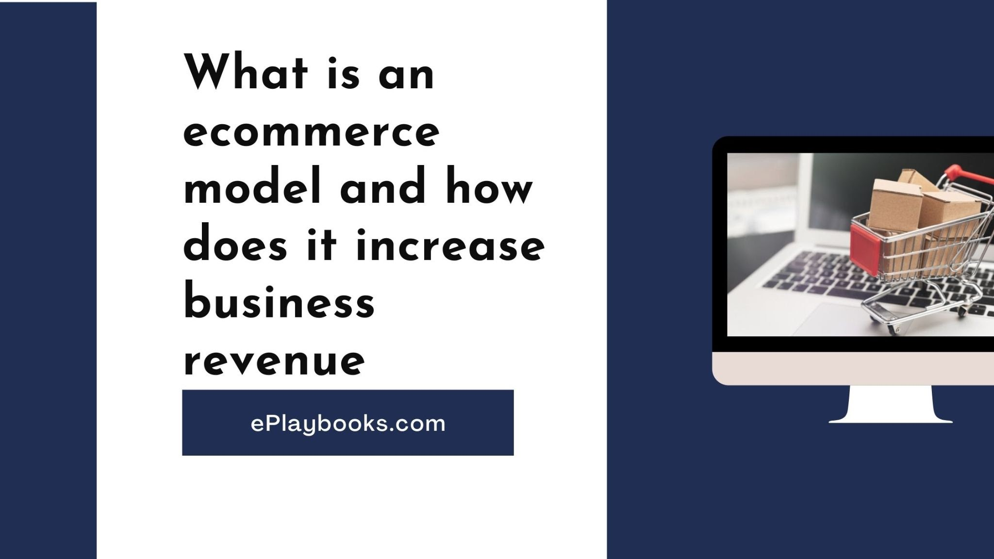What is an ecommerce model and how does it increase business revenue