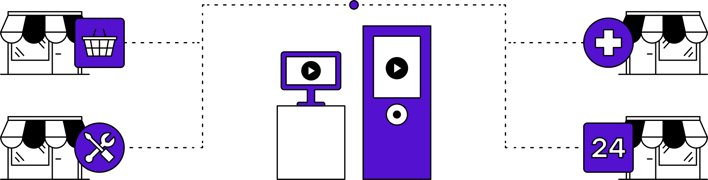 Location Illustration - Clerk