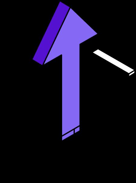 Sales Lift Illustration - Clerk