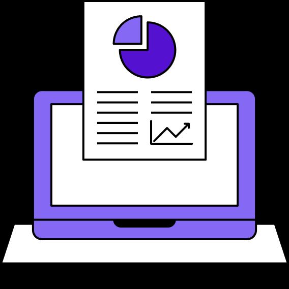 Custom Report Illustration - Clerk