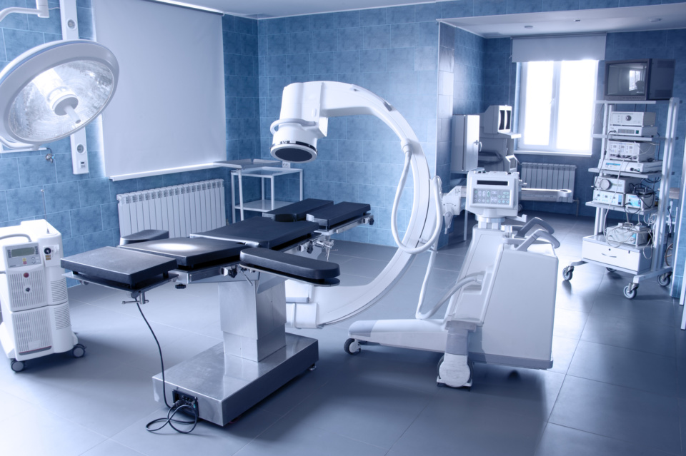 medical equipment in a medical practice
