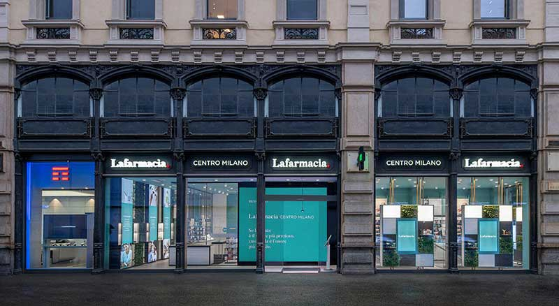 "Apre a Milano ""Lafarmacia."",il flagship di Hippocrates Holding"