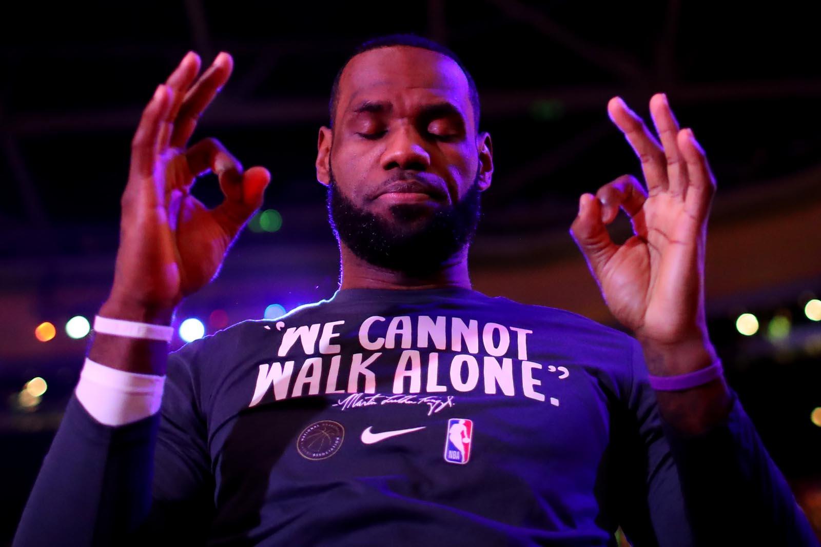 LeBron James o karantinu: Spreman sam za nastavak sezone!