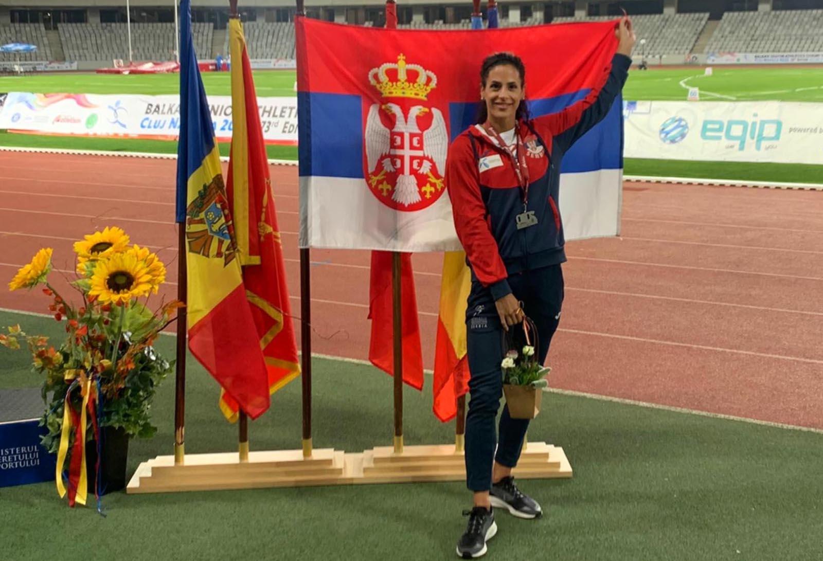 Atletika: Milana Tirnanić se sprema da obori rekord Ivane Španović