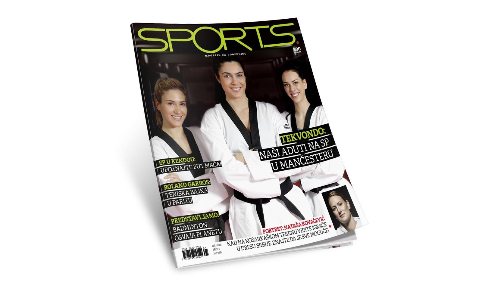 Borite se za svoje ciljeve, snove, dostignuća… Novi broj Sportsa je u prodaji!