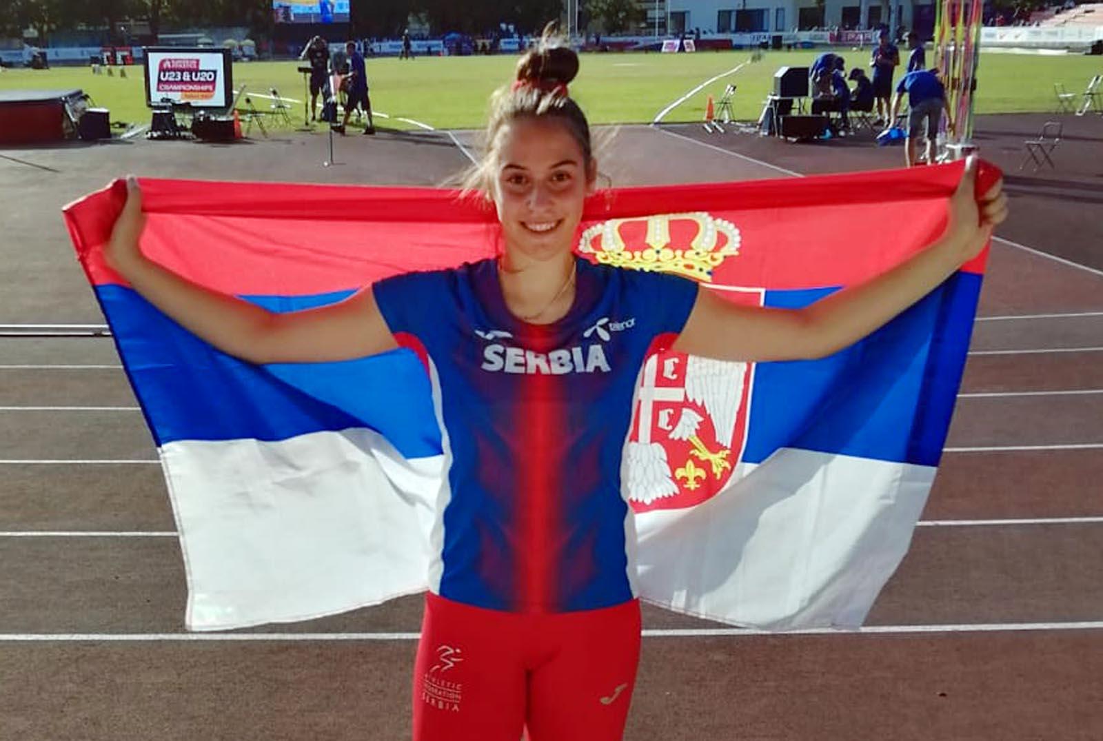 Atletika: Dva srebra za Srbiju na juniorskom EP u Talinu