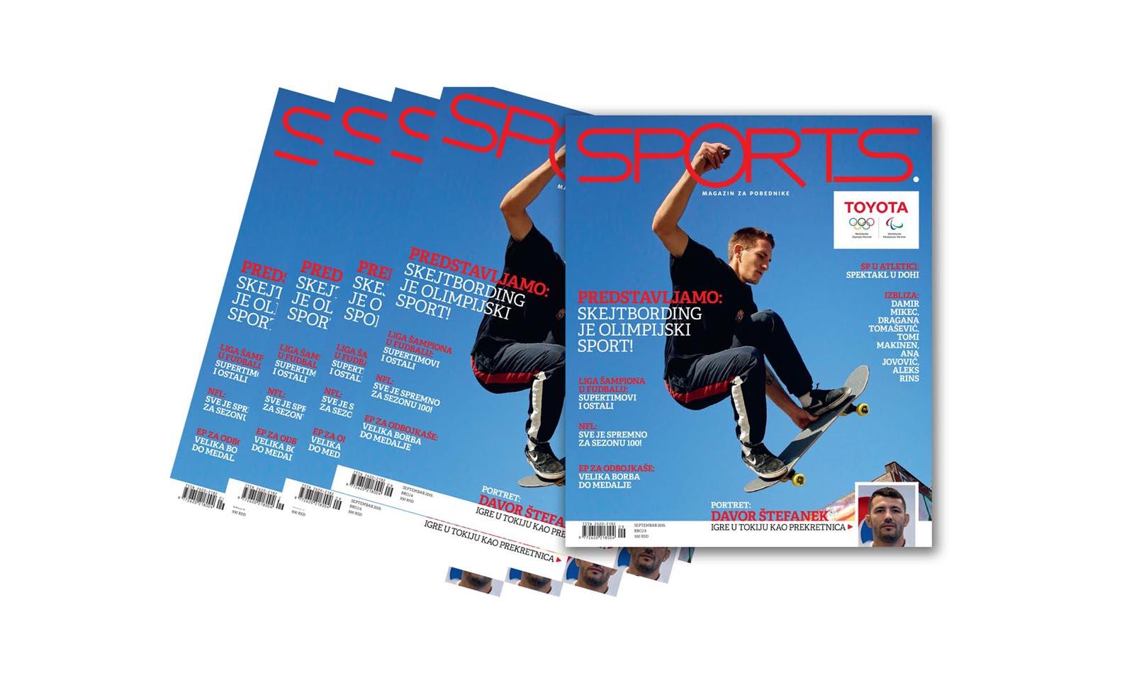 U prodaji je Sports broj 6: Da li ste spremni za spektakularni septembar?