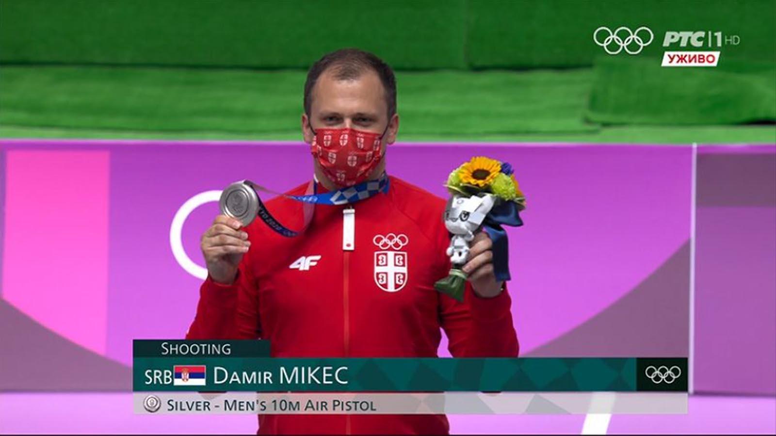 Olimpijske igre: Srebro za Damira Mikeca u Tokiju!