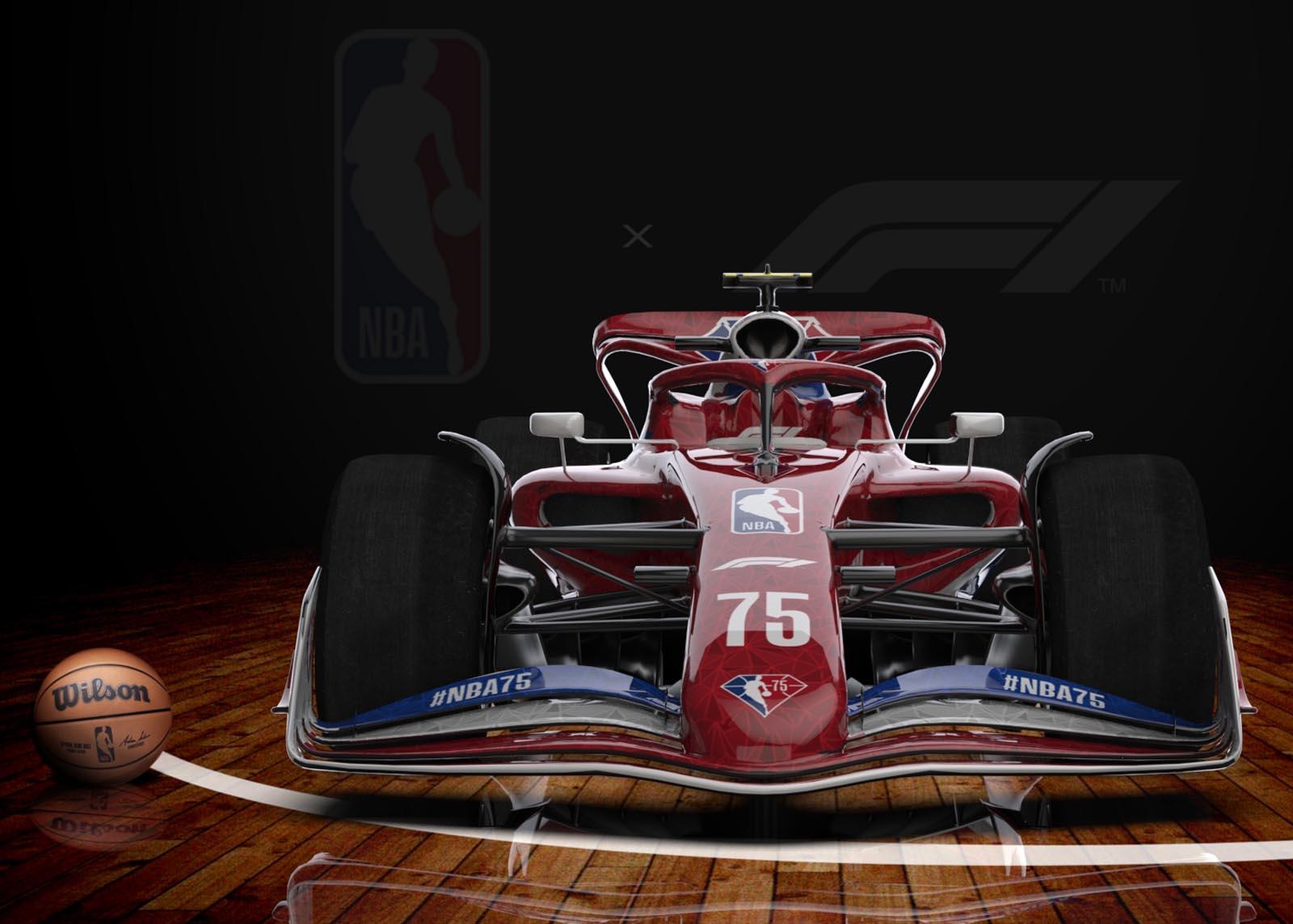 NBA i F1: Partnerstvo za značajni jubilej