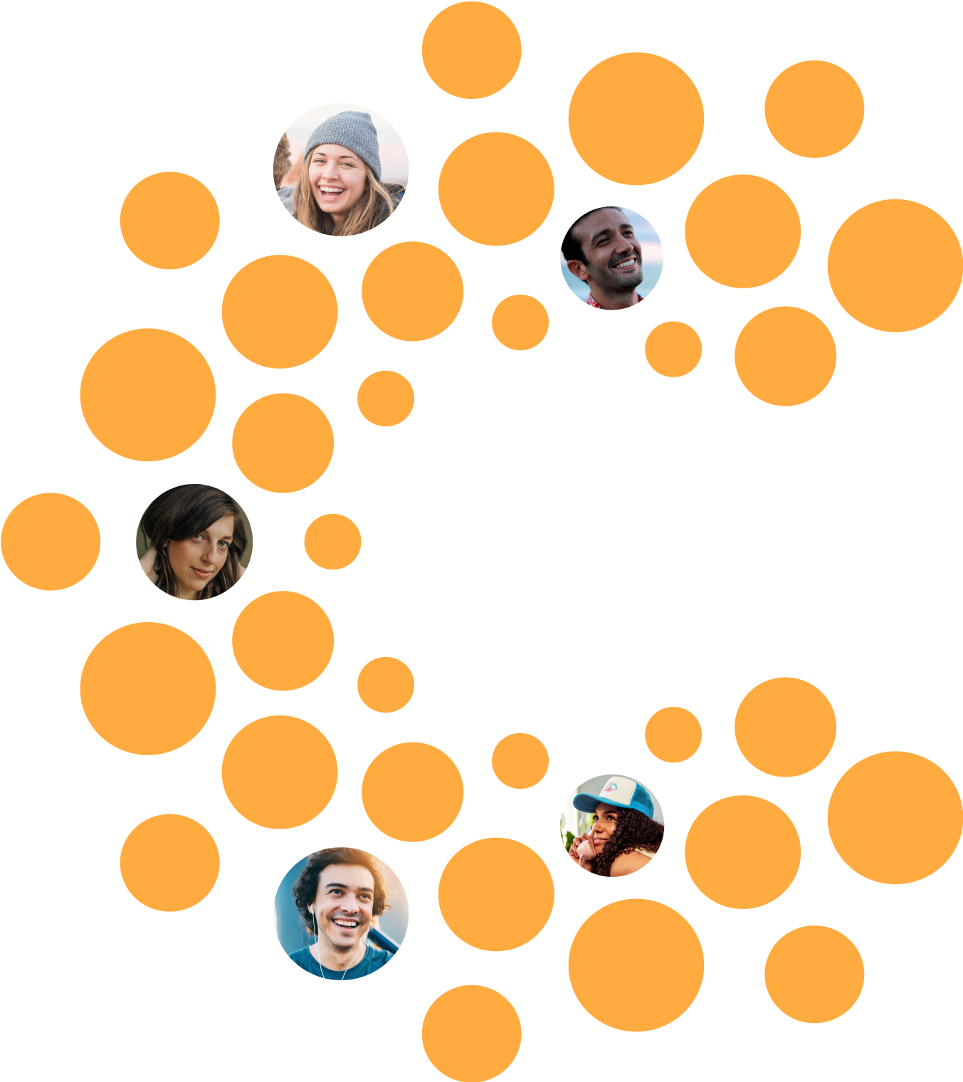 An illustration of CrowdHealth members within the logo.