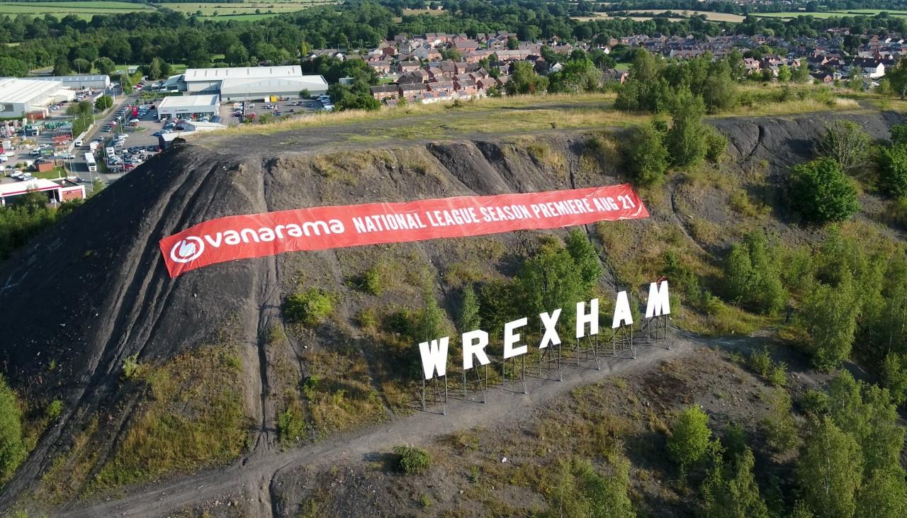 Wrexham Campaign for the Vanarama Football League