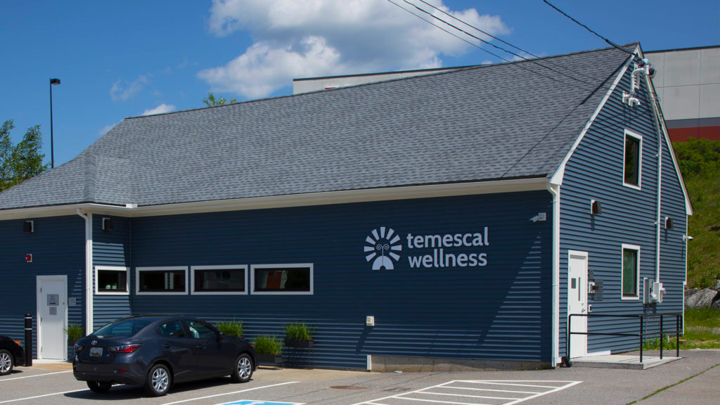 The outside of the Temescal Wellness Hudson location.