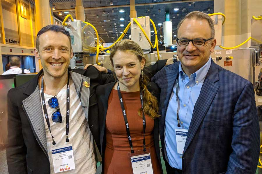 camus team at distributech conference