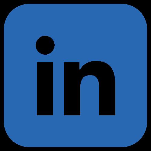 LinkedIn logo- link to profiles