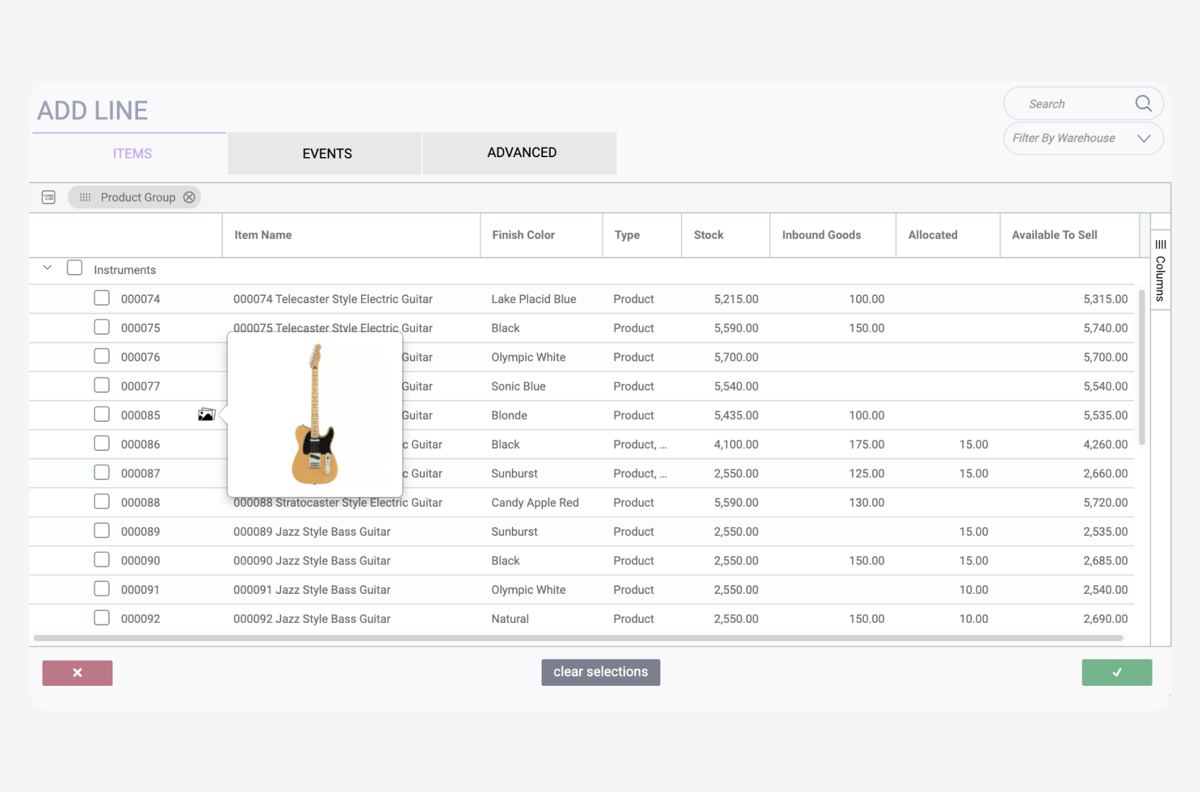 Paragon centralizes your data and allows you to manage your inventory.