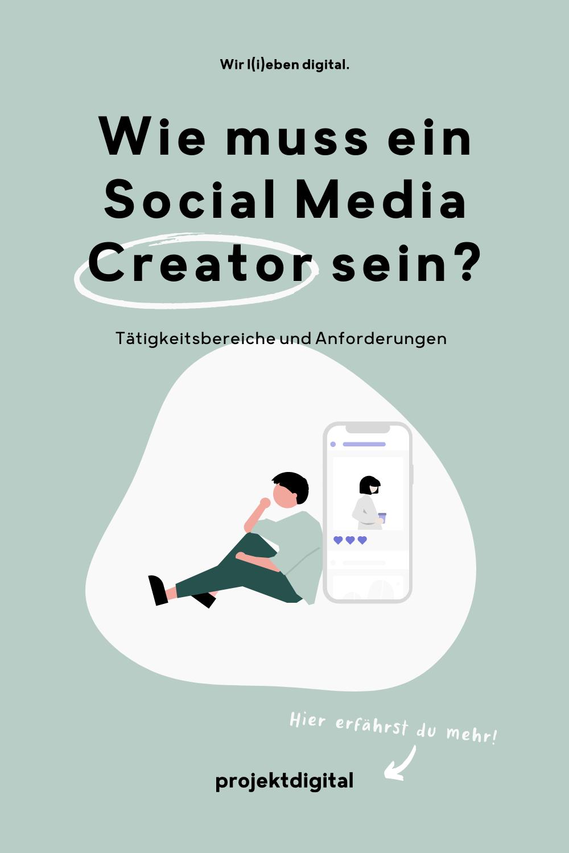 Welche Tätigkeitsfelder hat ein Social Media Creator und welches Wissen muss man dafür mitbringen? Klick dich gleich zum Beitrag!