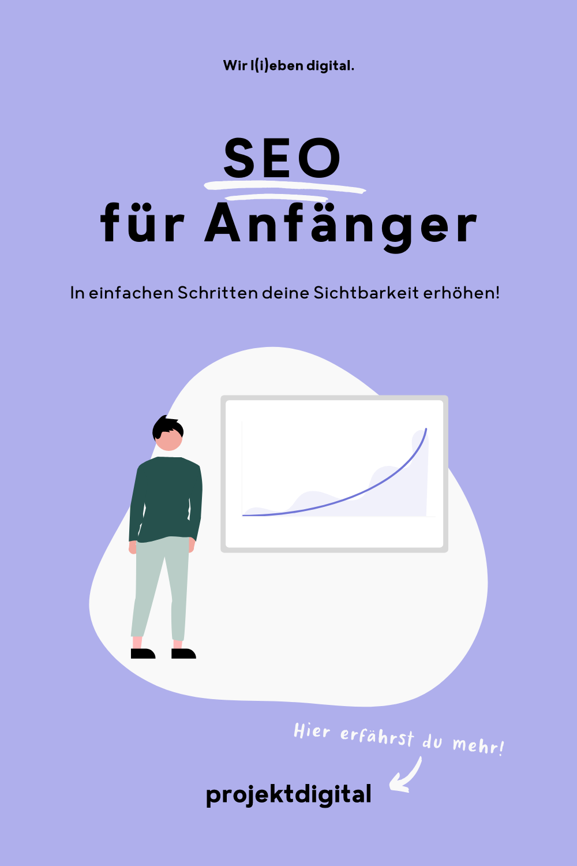 """In unserem Beitrag """"SEO für Anfänger"""" möchten wir dir einen Überblick über die 3 wichtigsten SEO-Bereiche geben in denen du selbst deine Website optimieren kannst. Klick dich gleich zum Beitrag oder speichere ihn für später!"""