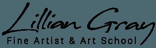 Lillian Gray Fine Artist & Art School logo