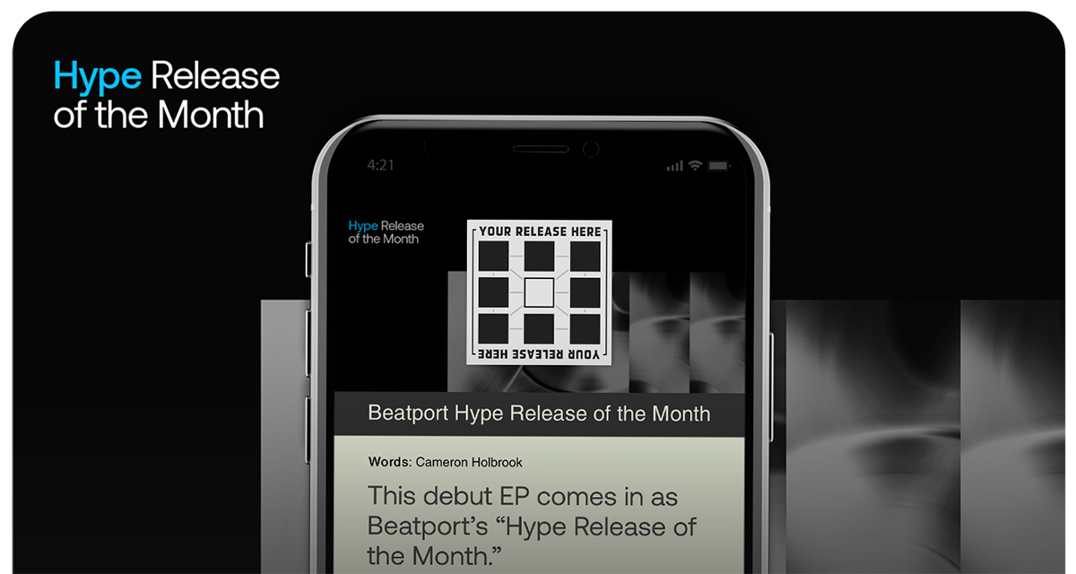 Release of the month Hype editorial on Beatportal