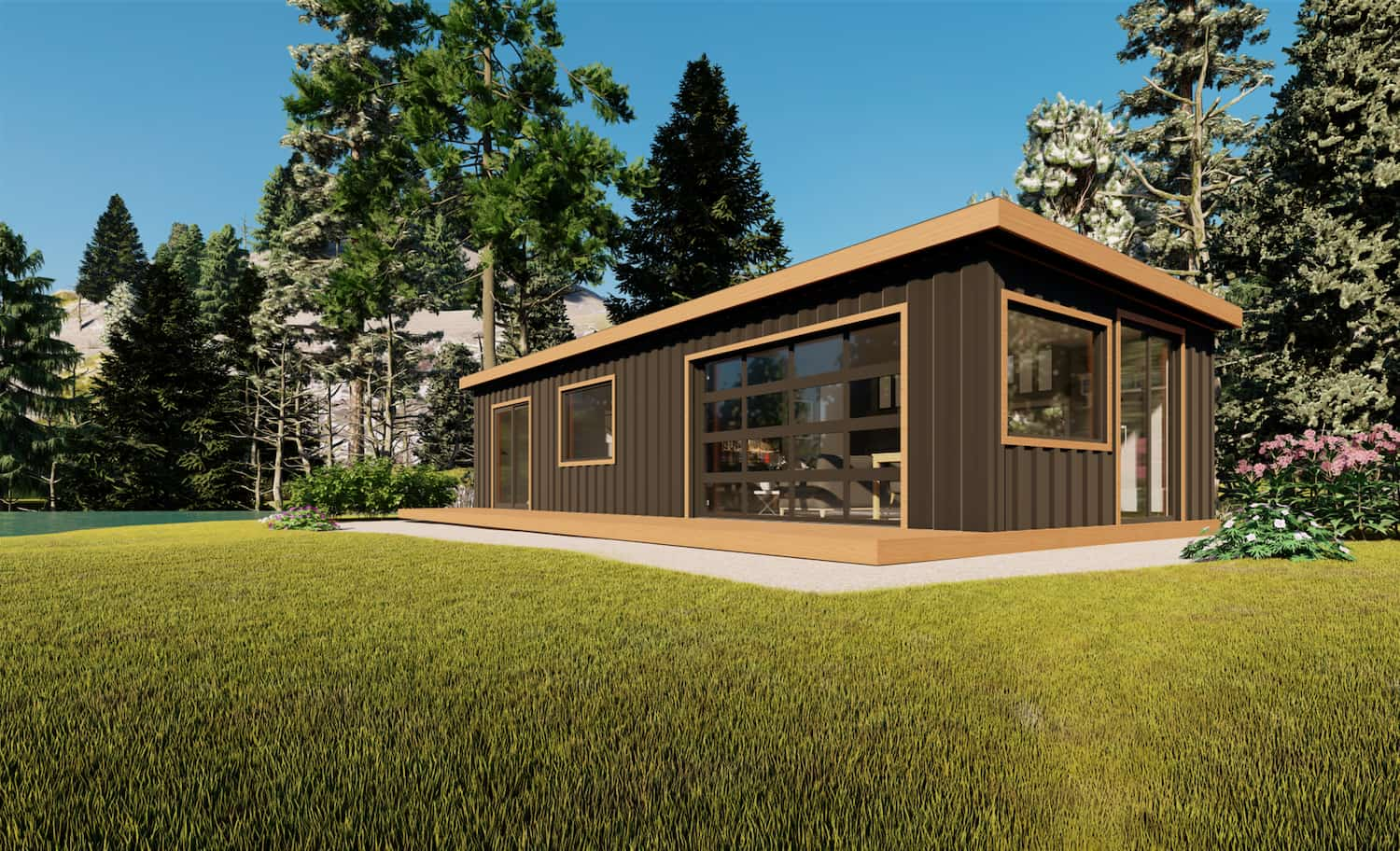 Prebuilt modular cabins and cottages for sale