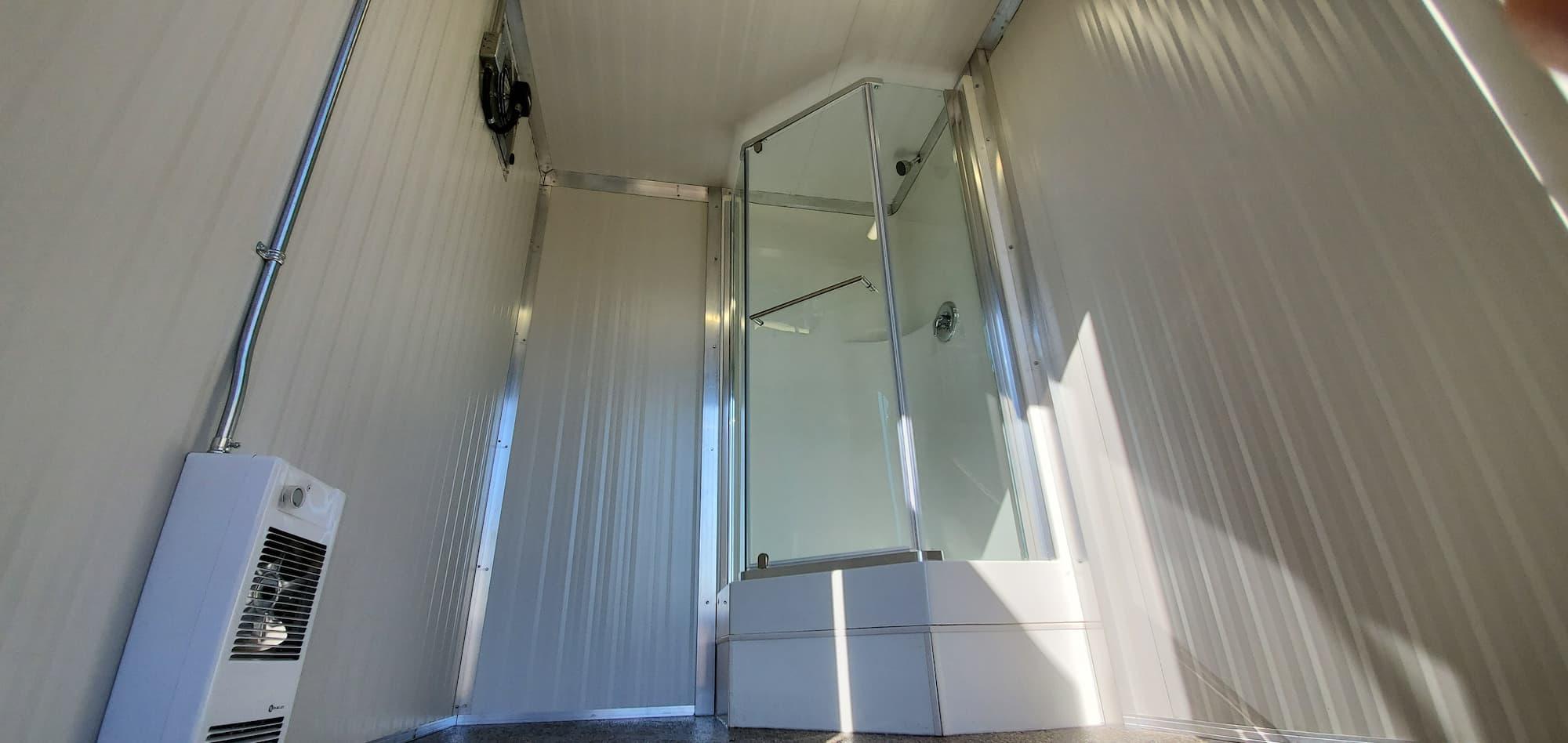 Mobile shower trailer rentals