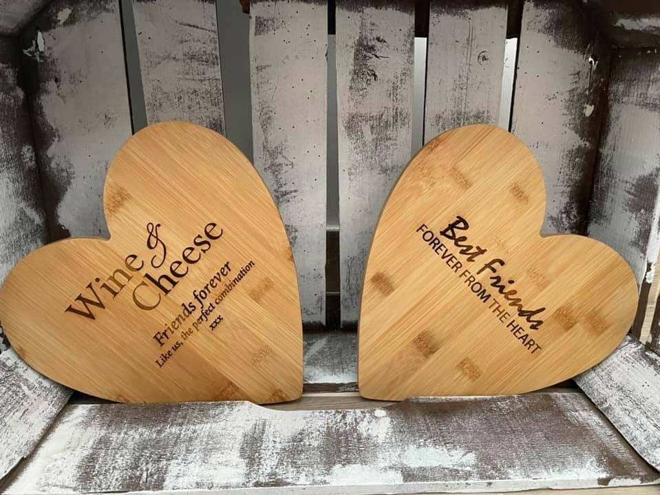 Applebees Catering Carved Personalised Boards