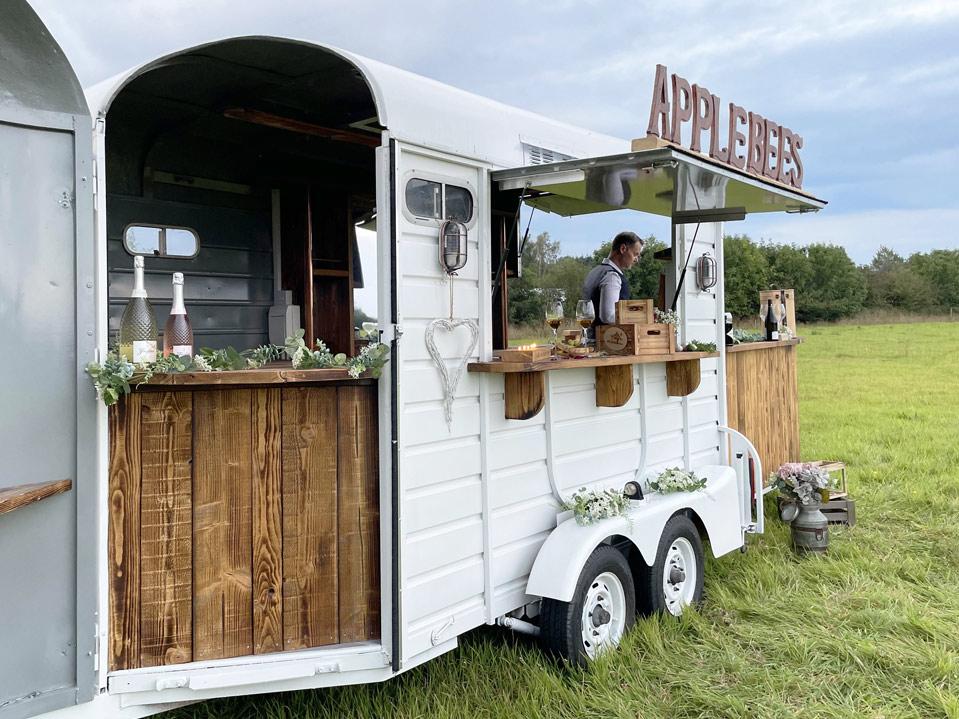 Applebees Catering Food Van