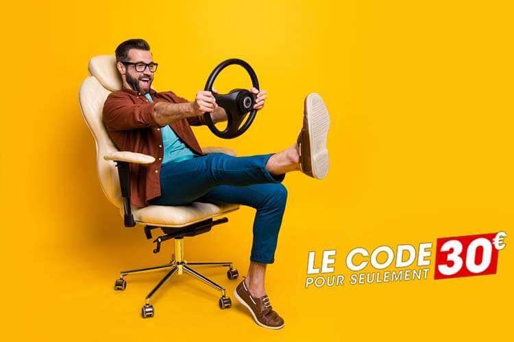 France Code- Examen Code de la route pourvseulement 30 euro
